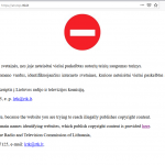 Lietuvoje blokuojamos dar dvi autorių teises pažeidusios svetainės